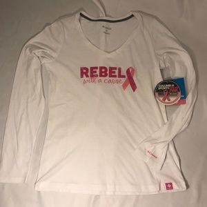 Columbia Tops - Columbia Long Sleeve Breast Cancer Awareness Shirt